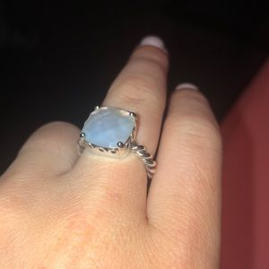 *RETIRED* Pandora Mother of Pearl Ring